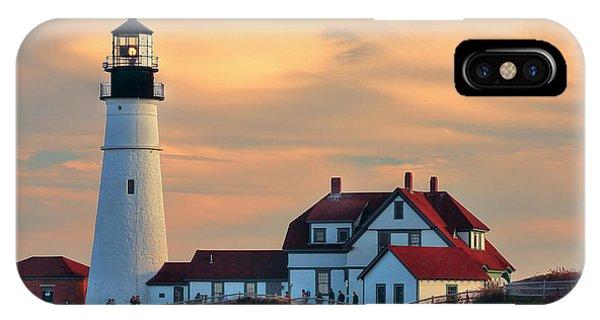 Portland Head Light-cape Elizabeth, Maine IPhone Case