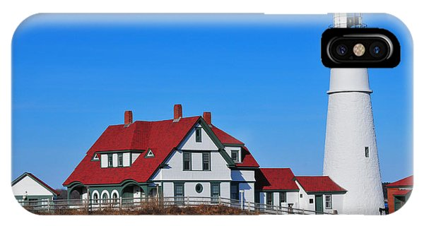 Portland Head Light Phone Case by Catherine Reusch Daley