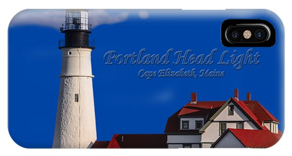Portland Head Light No. 43 IPhone Case