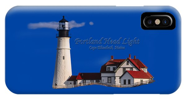 IPhone Case featuring the photograph Portland Head Light No. 43 by Mark Myhaver