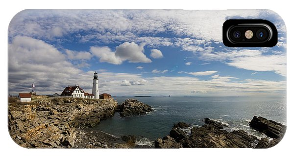 Portland Head Light Seascape IPhone Case