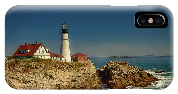 Portland Head Lighthouse 2 IPhone Case