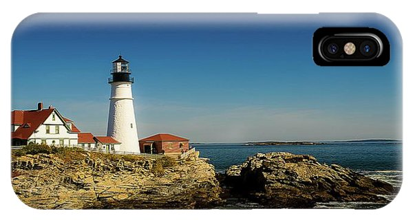 Portland Head Lighthouse 7 IPhone Case