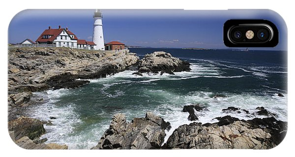 Portland Head Lighthouse, Maine, Usa IPhone Case