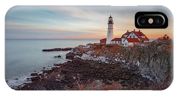 IPhone Case featuring the photograph Portland Headlight by David Hufstader