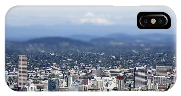 Portland In Perspective IPhone Case