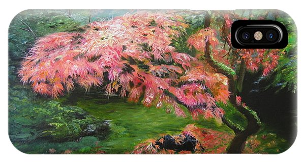 Portland Japanese Maple IPhone Case