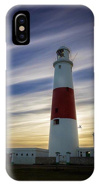 Portland Lighthouse At Sunset IPhone Case