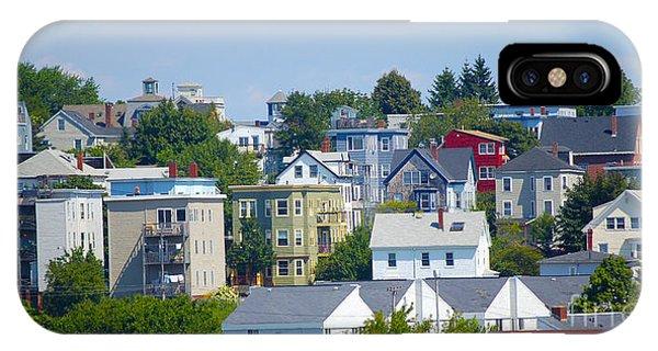 Portland Rooftops Phone Case by Faith Harron Boudreau