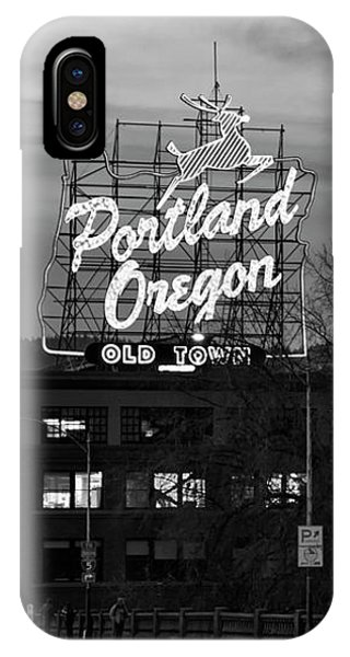 Portland Signs IPhone Case