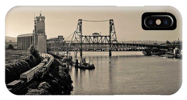 Portland Steel Bridge IPhone Case