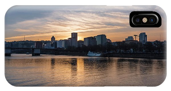 Portland Sunset IPhone Case