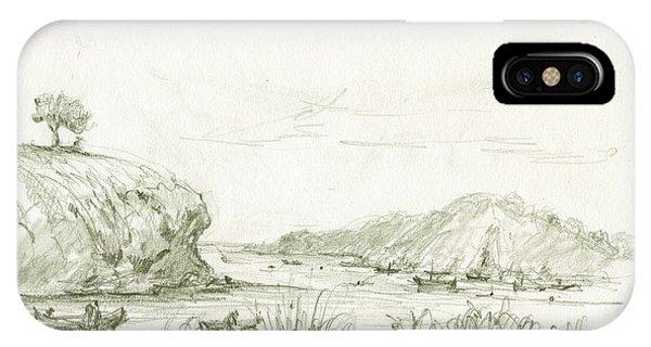 Fishing Boat iPhone Case - Portlligat Cadaques by Juan Bosco