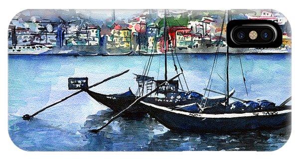 Porto Rabelo Boats IPhone Case