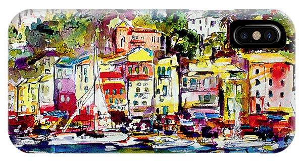 Portofino Italian Riviera IPhone Case