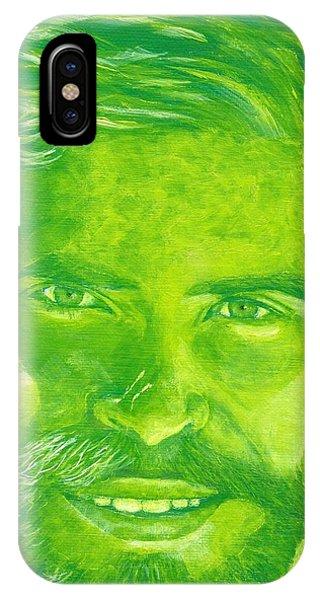 Portrait In Green IPhone Case