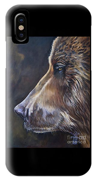 Portrait Of A Bear IPhone Case