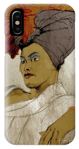 Portrait Of A Caribbean Beauty IPhone Case