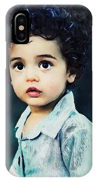 Portrait Of A Child IPhone Case