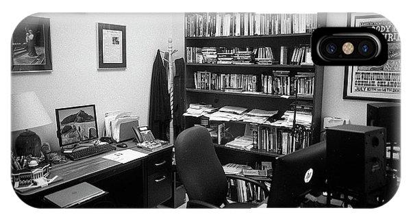 Portrait Of A Film/tv Professor's Office IPhone Case