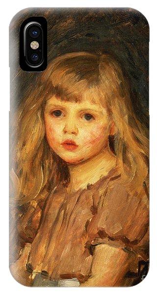 Girls iPhone Case - Portrait Of A Girl by John William Waterhouse