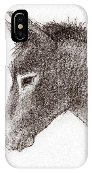 Portrait Of A Mule IPhone Case