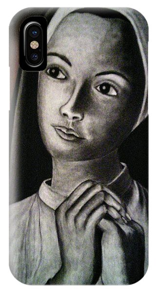 Portrait Of A Nun IPhone Case