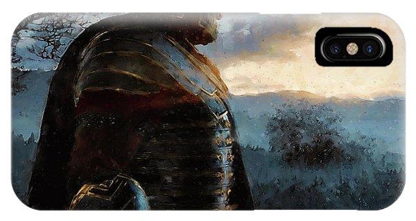 Portrait Of A Roman Legionary - 34 IPhone Case