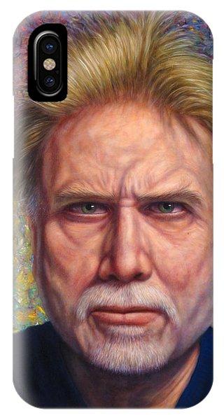 Portrait Of A Serious Artist IPhone Case