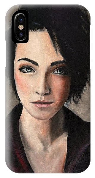 Portrait Of A Woman #2 IPhone Case