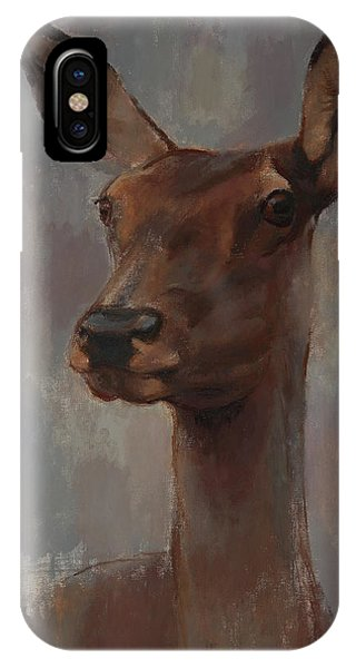 Portrait Of A Young Doe IPhone Case