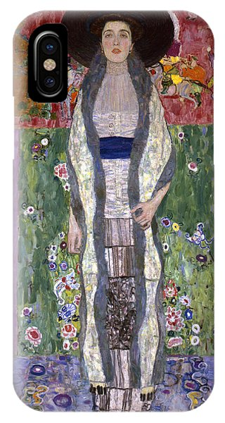 Adele iPhone Case - Portrait Of Adele Bloch-bauer II by Gustav Klimt