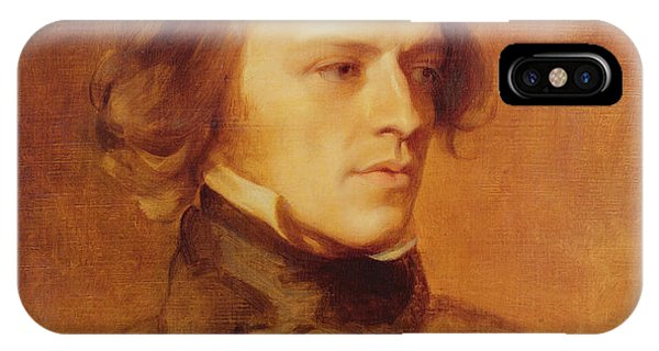 Portrait Of Alfred Lord Tennyson IPhone Case