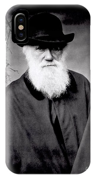 Portrait Of Charles Darwin IPhone Case