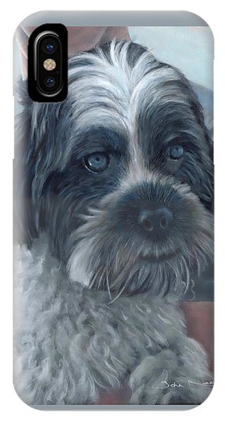 Portrait Of Charley IPhone Case