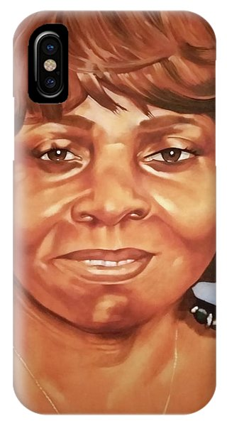 Portrait Of Chelsea Batty IPhone Case