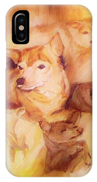 Portrait Of Chi Chi IPhone Case