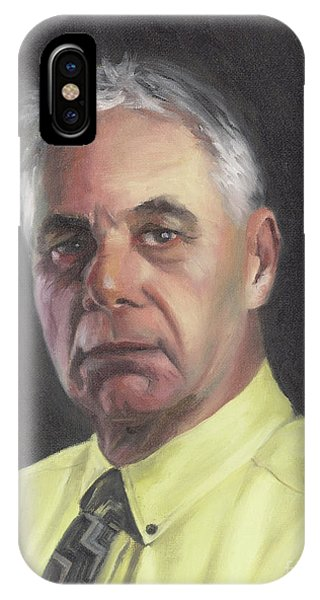 Portrait Of Chris Phone Case by Terri  Meyer