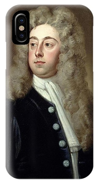 iPhone Case - Portrait Of Francis 2nd Earl Of Godolphin 1678-1766 Sir Godfrey Kneller by Eloisa Mannion