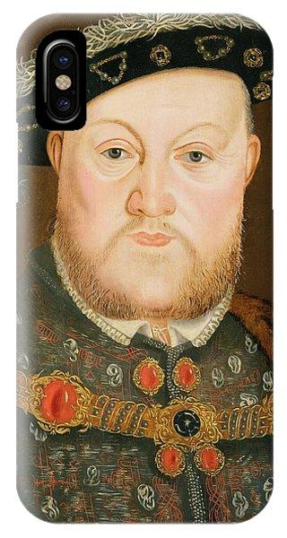 Portrait Of Henry Viii IPhone Case