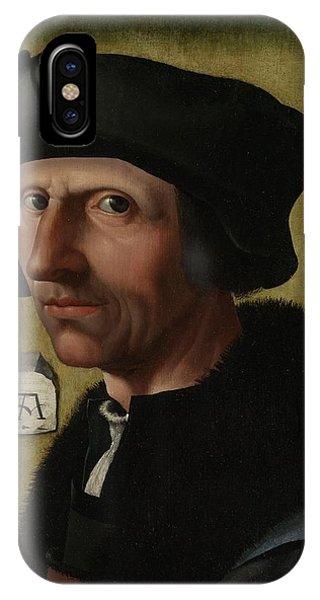 Portrait Of Jacob Cornelisz Van Oostsanen IPhone Case