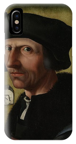 Portrait Of Jacob Cornelisz Van Oostsanen IPhone Case