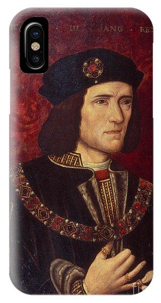 Chain iPhone Case - Portrait Of King Richard IIi by English School