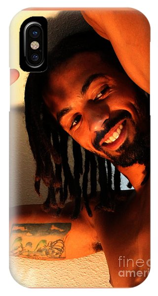 Portrait Of Lamont IPhone Case