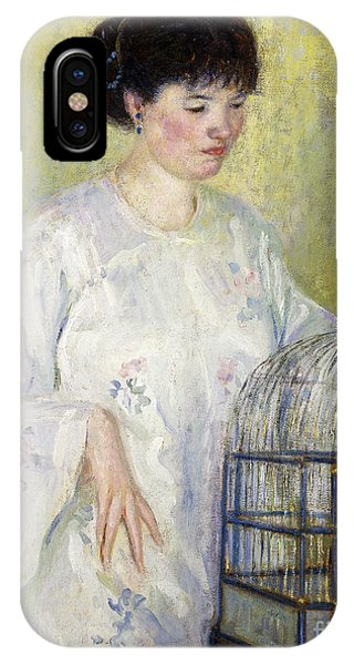 Portrait Of Madame Frieseke IPhone Case