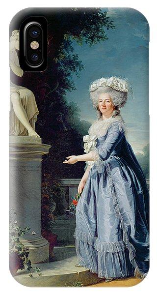 Portrait Of Marie-louise Victoire De France IPhone Case