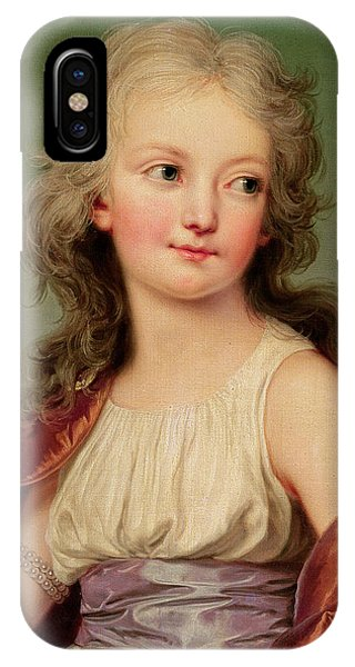 Portrait Of Marie-therese Charlotte Of France IPhone Case