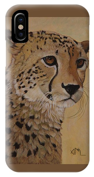 iPhone Case - Portrait Of Murphy - Male Cheetah by Antonio Marchese