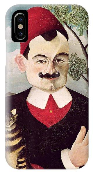Portrait Of Pierre Loti IPhone Case
