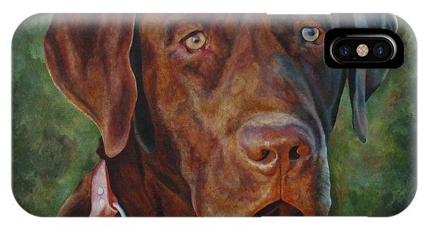 Portrait Of Remington 0094_2 IPhone Case